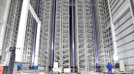 9米高的工业重型物质仓库货架【易达货架】