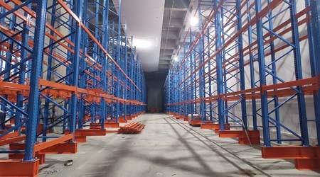 广州托盘式货架仓库高位货架一般几米高?【易达货架】