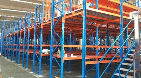 花都仓库重型托盘货架厂货架为什么用Q235材质?【易达货架】