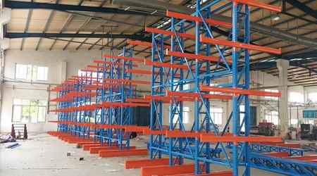 东莞悬臂式仓储货架定做可以设计几层?【易达货架】