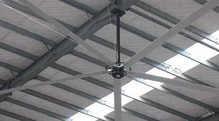 惠州工业大风扇厂家直销噪音大吗?【易达货架】