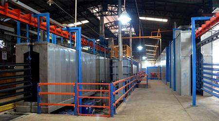广州仓储货架为什么要酸洗磷化?