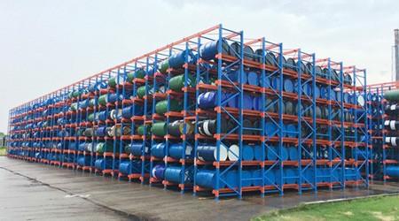 重型货架厂的仓库货架可以承受多大的撞击?
