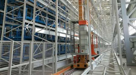 自动化立体仓储货架在冷库中的优势[易达货架]
