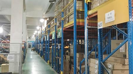 易达重型货架制造厂对定制货架平台的客户进行回访[易达货架]