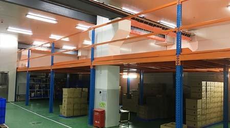重型家具厂仓库货架对地面承重的要求【易达货架】