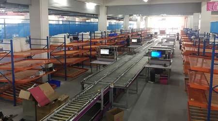 祝贺众速定制的东莞流利式货架项目安装竣工【易达货架】
