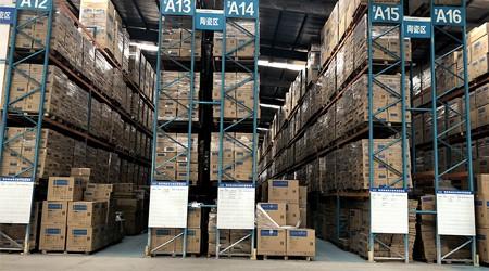 高位仓储货架重型货架凤岗仓库货架定制怎么盘点货物?【易达货架】