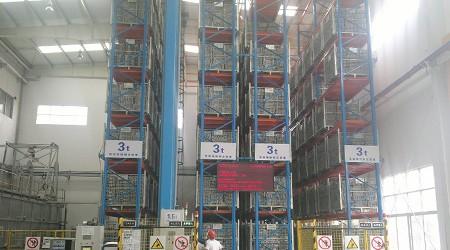 35米高的电商物流仓库货架【易达货架】