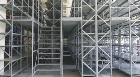 惠州阁楼仓储货架用在五金行业的好处 [易达货架]