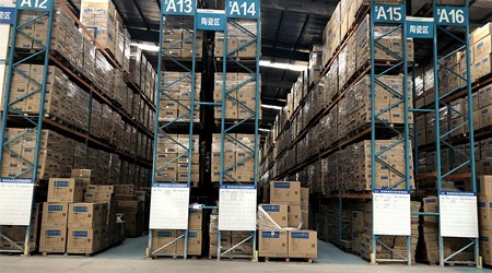 惠州仓储货架公司的重型货架是否能淋雨?【易达货架】