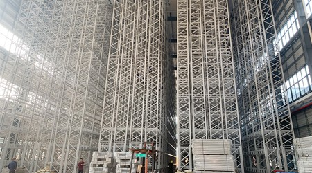 佛山仓库货架定做厂家密集式自动化货架有哪些类型?【易达货架】
