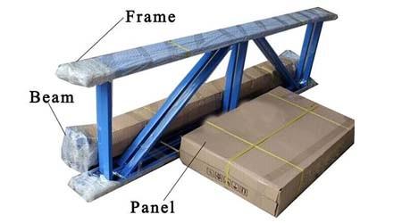 重型仓库货架的包装有必要加厚加固吗