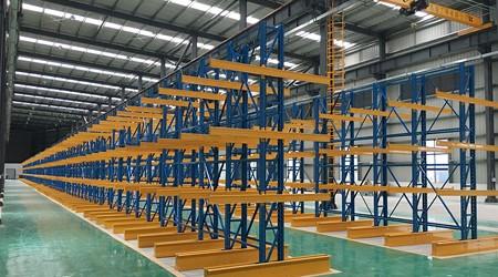 惠州悬臂式货架,用于长条状货物存储的仓储货架【易达货架】