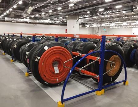 轮胎货架案例